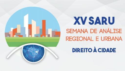PRAZO PRORROGADO: XV Semana de Análise Regional e Urbana da UNIFACS