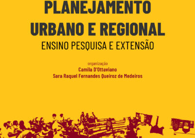 Planejamento Urbano e Regional Ensino Pesquisa e Extensão